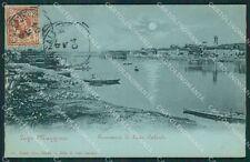 Varese Sesto Calende Chiaro di Luna cartolina QK6175