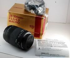 Sigma 28-300 mm F 3.5-6.3 SLD GLASS IF MACRO Lens For Sigma SA Mount SD1 SD15
