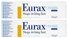 Eurax Cream 100g Stops Itching Fast | Works Up To 10 Hours - 2 Pack