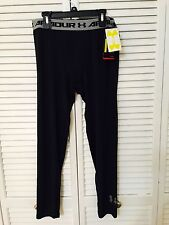 NWT Under Armour 1253824 Boys' HeatGear Armour Fitted Leggings Size XL - DK29_15