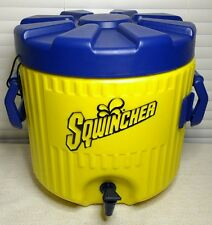 New SQWINCHER Cooler Water Jug Drink Dispenser Sport Tailgate Picnic Catering
