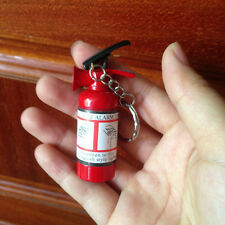 Fire Extinguisher Shape Refillable Butane Gas Keychain Cigarette Cigar Lighter R