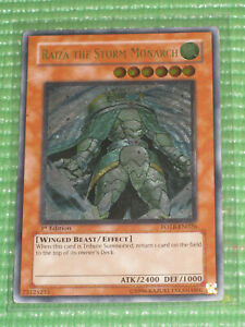 YuGiOh Card - Raiza the Storm Monarch FOTB-EN026 1st Ed. Ultimate Rare