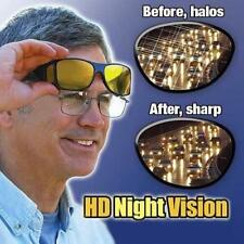 2 Pair Set Night Driving and Day Driving Wraparound Sun glass As seen On TV