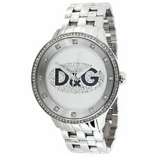 Orologio Dolce&Gabbana DW0131 Prime Time acciaio e swarovski con box&garanzia