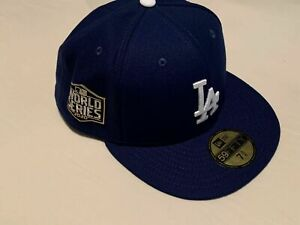 Los Angeles Dodgers 2020 World Series New Era Cap Fitted 59Fifty 7 3/8