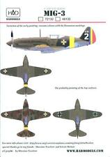 Hungarian Aero Decals 1/72 MIKOYAN MiG-3 Fighter German & Romanian Service