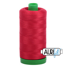 Aurifil Cotton Quilting Thread 40wt - 1000m - 2250 - Red