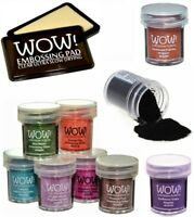 WOW EMBOSSING POWDER 15ML POT EARTHTONE COLOURS 20% OFF WHEN YOU BUY 2 OR MORE
