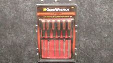 """GearWrench 82821 - 6 PIECE MINI FILE SET, 4"""" FILES with Storage Pouch"""