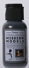 Mission Models Premium Hobby Paints - Metallic Burnt Iron 1 (1oz bottle)