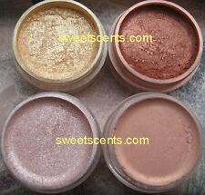 MINERAL MAKEUP~5g~EYESHADOW~LOOSE POWDER~MICA~GOLD COPPER SHADE BRONZE CREAM