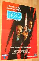 """F/X 2 – Die tödliche Illusion """"F/X2"""" Filmplakat / Poster A1 ca 60x84cm"""