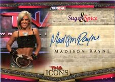 TNA Madison Rayne 2010 Icons Silver Authentic Autograph Card