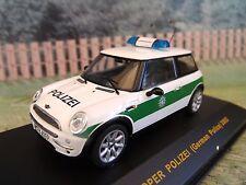 1/43 IXO Mini cooper   Police  2002