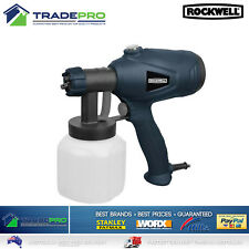 Paint Spray Gun Rockwell Electric Airless Sprayer 350W Out Performs W95 Wagner