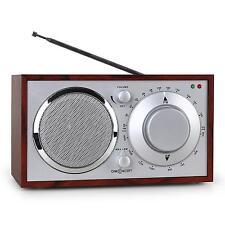 Occasione Radio Antenna Vintage Ciliegio Idea Regalo Cucina Bagno Am/Fm Aux