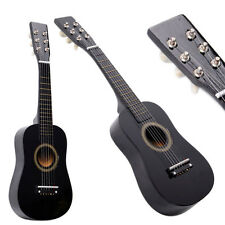 New Beginner Kids 6 Strings Acoustic Toy Guitar 23 Inch Color Hot Black
