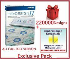 Brother PE Design 11 Digitizing + 220 000 Design for free + Gift ⭐ FULL VERSION⭐