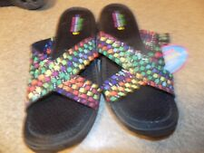 SKECHERS OUTDOOR LIFESYLE WOMENS SIZE 8 SLIDE ON SANDALS