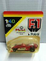 Polistil 1:40 Formula 1 F1 ALFA ROMEO 180 in Metallo con Decals MOC, 1983