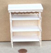 1:12 Scale Natural Finish Wooden Book Shelf Cabinet Tumdee Dolls House 228