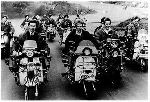 QUADROPHENIA. Mini poster. 60's pop, Mod, The Who, Keith Moon.