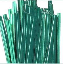 Paper Twist ties -7 Inch Green .2000 ties in box.
