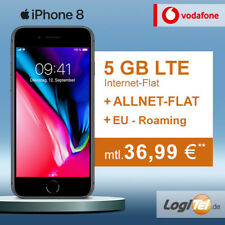 Apple iPhone 8 64GB Handy mit Vodafone Vertrag 5GB Allnet Flat inkl. 36,99€mtl.
