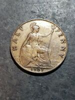 Great Britain 1907 Half Penny Coin
