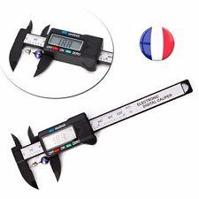 Vernier Pied A Coulisse Digital 100mm De Precision Numerique Ecran LCD