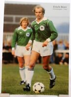 Erich Beer + Fußball Nationalspieler DFB + Fan Big Card Edition B388 +