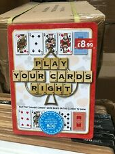 Play your cards right Quiz Game , Family Fun TV Game Higher Lower New At Home