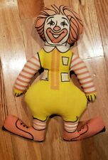 VINTAGE 1970'S RONALD MCDONALD FABRIC STUFFED DOLL