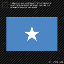 """4"""" Somali Flag Sticker Decal Self Adhesive Vinyl Somalia SOM SO"""