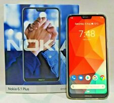 = NOKIA = 6.1 PLUS TA-1103 SMARTPHONE = WHITE DUAL SIM 64GB 4GB RAM X6 LIKE NEW