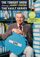 The Tonight Show Starring Johnny Carson - The Vault Series (DVD, 2017, 6-Disc Se