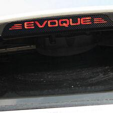 Bremslicht Aufkleber Leiste Carbon Dekor Sticker Land Rover Range Rover Evoque
