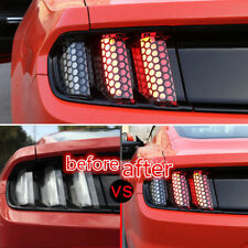 For Ford mustang 2015 2016 2017 Rear Tail Light Stickers 6PC Taillight Cover