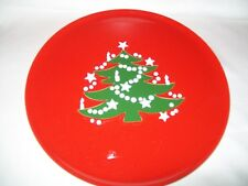 WAECHTERSBACH RED CHRISTMAS TREE CHARGER PLATTER PLATE 12 3/8""
