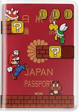 Nintendo SUPER MARIO BROS Passport Cover Holders Ticket Card Case fast shipping