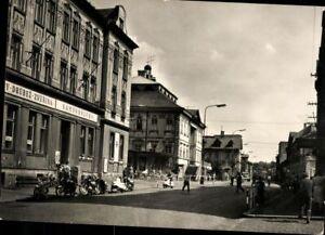 Carte Postale Pk Varnsdorf Czechia Leninova Trida Pris Vue de la Ville