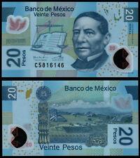 Messico 20 PESOS (P122) 2016 Polymer UNC SERIE AA