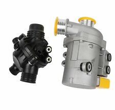 New Electric Engine Water Pump and Thermostat For BMW X3 X5 1 3 5 Series