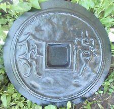 "Gostatue oriental stepping stone mold heavy duty plastic mould 13"" x 2"""