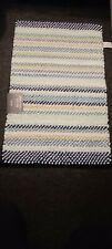 Marta Steweart striped noodle bath rug  21 in × 34 in