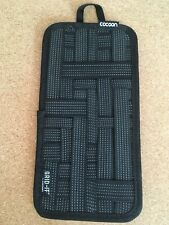 """CPG5BK COCOON 5.125"""" x 10"""" Grid-It Organizer (Black) for Cellphone,Pen,Charger"""