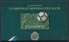 San Marino 1998 Sass. 5 Booklet 100% MNH World Cup
