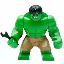 LEGO HEROES MARVEL HULK VERDE COMPATIBILE,,NUOVO,GRANDE 7cm) SPED.il lunedi