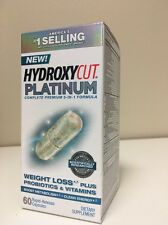 (New) Hydroxycut Platinum Weight Loss Supplement, 60 Rapid Release Capsules